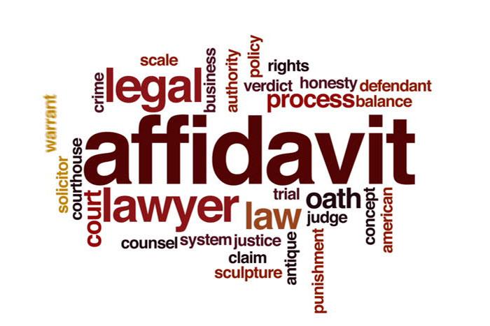 affidavit criteria